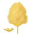 Farbaroma Flossine Banane (Gelb) für Zuckerwatte in der Dose