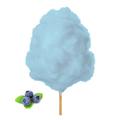 Farbaroma Flossine Heidelbeere (Blau) für Zuckerwatte in der Dose