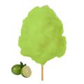 Farbaroma Flossine Limette (Grün) für Zuckerwatte in der Dose