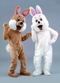 Kostüm Hase in braun