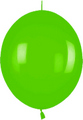 Ballons LOL-12  Fashion Solid limonengrün