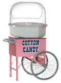 Unterwagen für Zuckerwattemaschine rosa